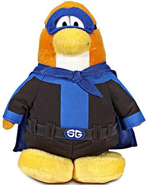 Club Penguin Series 12 Shadow Guy 6.5-Inch Plush Figure [Version 3]