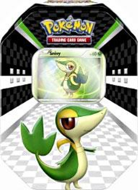 Pokemon Black & White Spring 2011 Sneak Peek Snivy Collector Tin