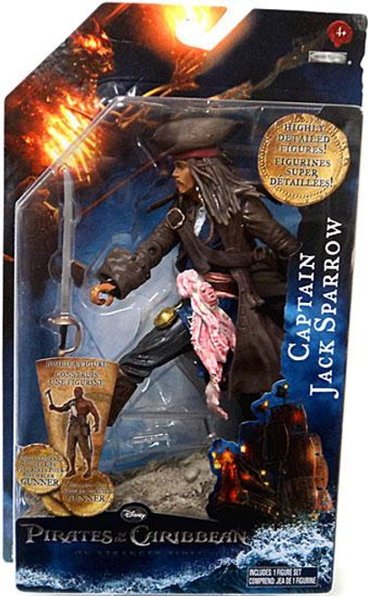 Pirates of the Caribbean On Stranger Tides Series 1 Captain Jack Sparrow Action Figure