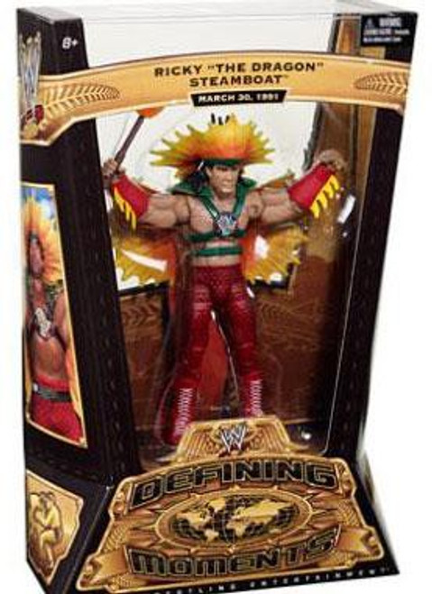 WWE Wrestling Defining Moments Series 3 Ricky The Dragon Steamboat Action Figure