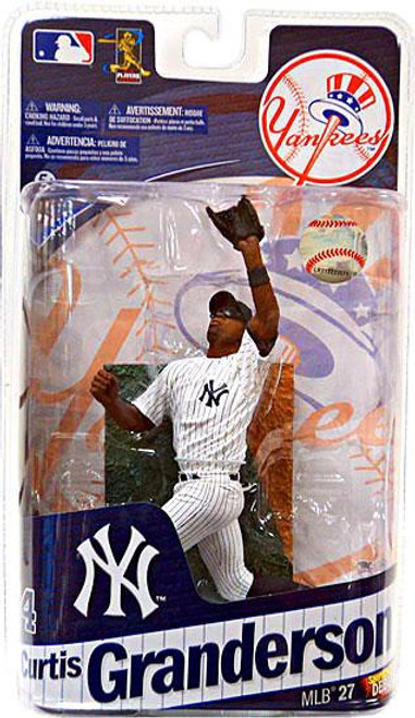 McFarlane Toys MLB New York Yankees Sports Picks Series 27 Curtis Granderson Action Figure
