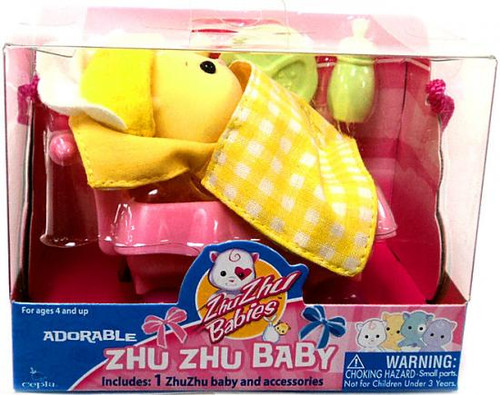 Zhu Zhu Pets Babies Babboose Zhu Zhu Baby [Yellow]