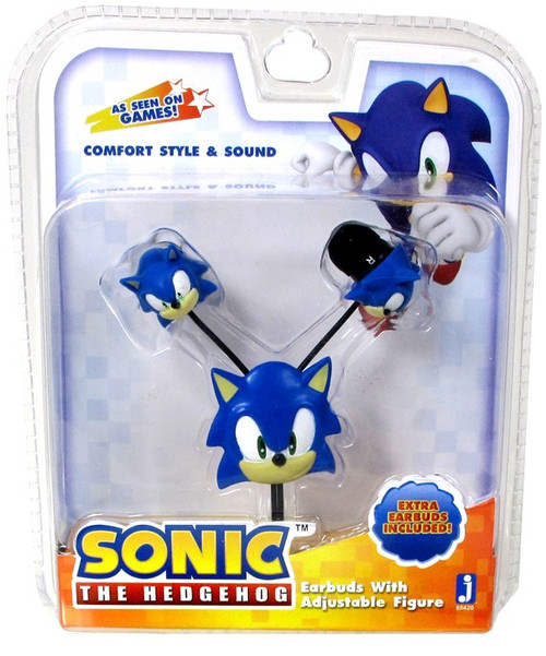 Sonic The Hedgehog Earbuds