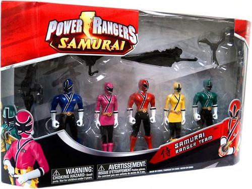 Power Rangers Samurai Ranger Team Exclusive Action Figure Set