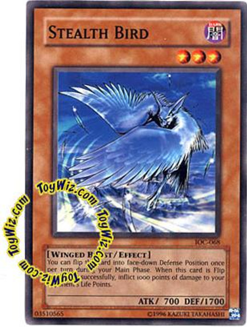 YuGiOh Invasion of Chaos Common Stealth Bird IOC-068