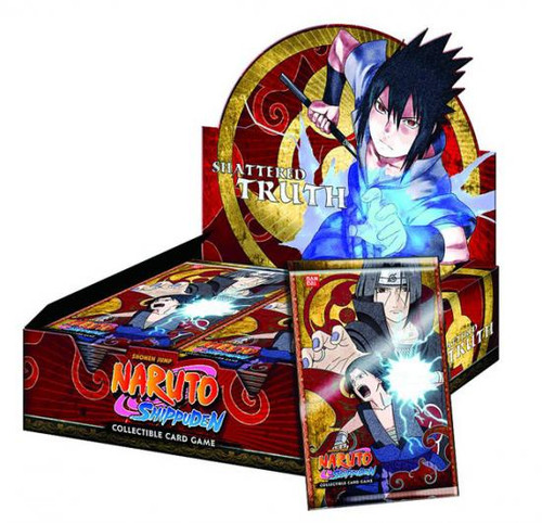 Naruto Shippuden Card Game Shattered Truth Booster Box [24 Packs]