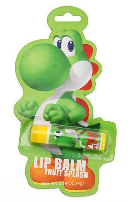 Super Mario Bros Yoshi's Fruit Splash Lip Balm Candy
