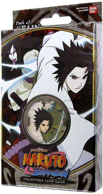 Naruto Shippuden Card Game Path of Pain Sasuke & Snake Theme Deck