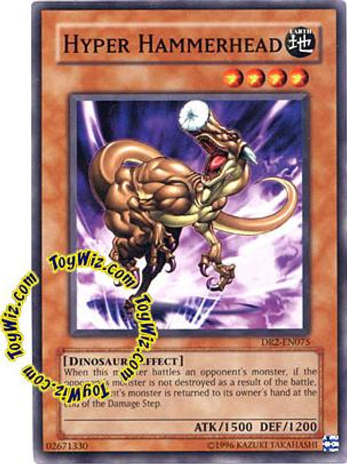 YuGiOh Invasion of Chaos Common Hyper Hammerhead IOC-074