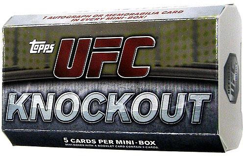 UFC 2010 Knockout Trading Card Pack