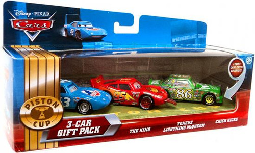 Disney Cars Multi-Packs Piston Cup 3-Car Gift Pack Diecast Car Set [Final Three]