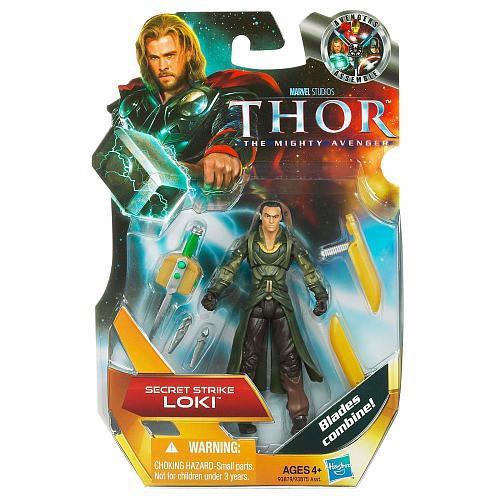 Thor The Mighty Avenger Loki Action Figure #4 [Secret Strike]