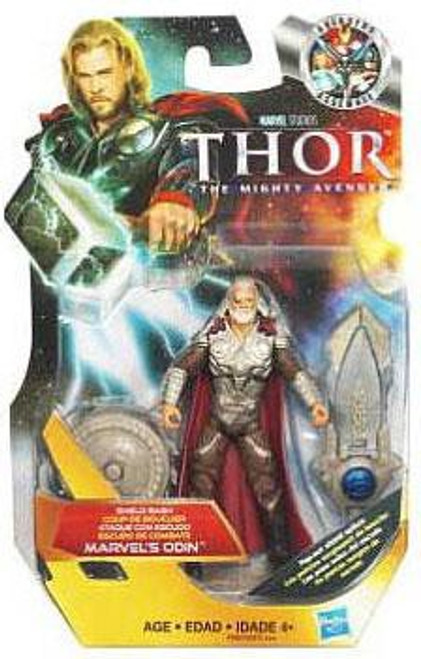 Thor The Mighty Avenger Shield Bash Marvel's Odin Action Figure #5