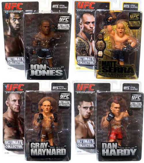 UFC Ultimate Collector Series 6 Set of 4 Action Figures