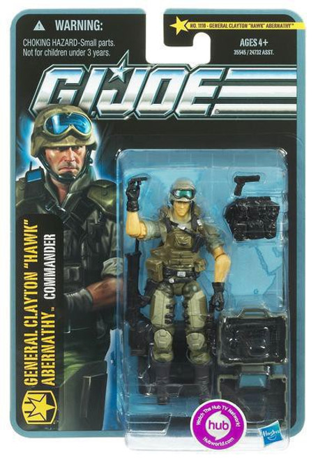 GI Joe Pursuit of Cobra General Clayton Hawk Abernathy Action Figure