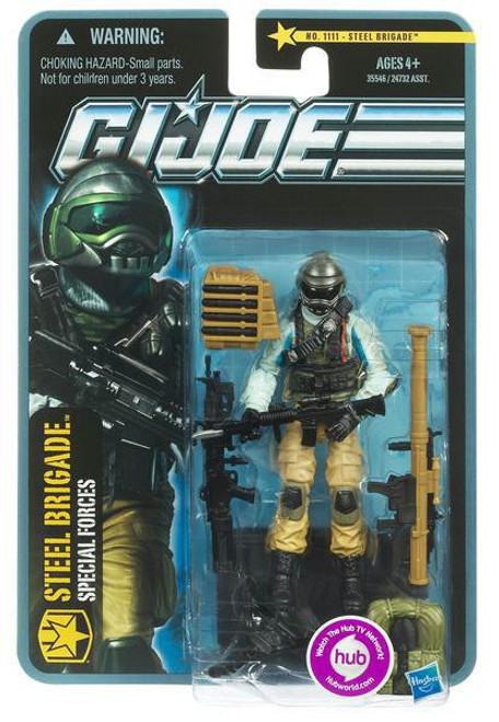 GI Joe Pursuit of Cobra Steel Brigade Action Figure