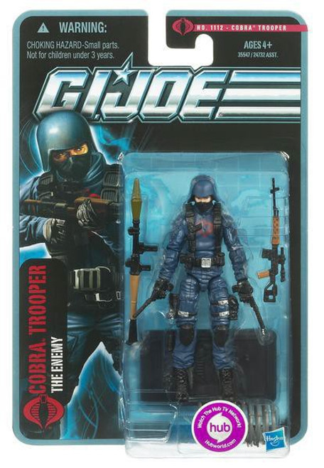 GI Joe Pursuit of Cobra Cobra Trooper Action Figure