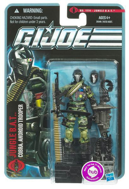 GI Joe Pursuit of Cobra Jungle BAT Action Figure