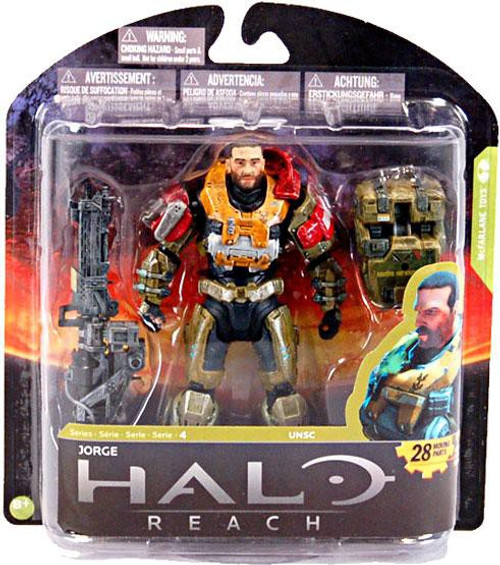 McFarlane Toys Halo Reach Series 4 Jorge Action Figure [Unmasked]