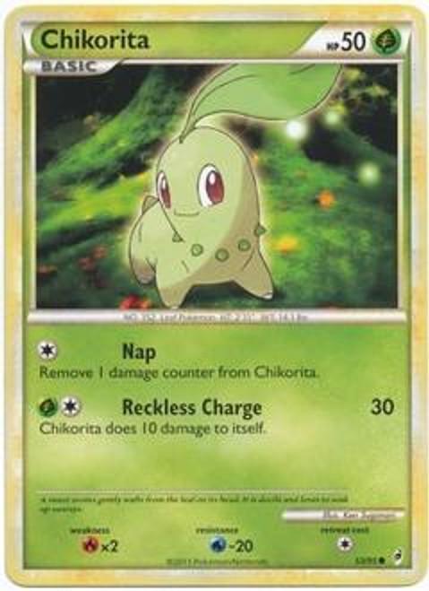 Pokemon Call of Legends Common Chikorita #53
