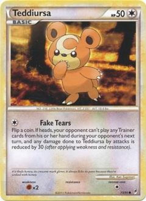 Pokemon Call of Legends Common Teddiursa #73