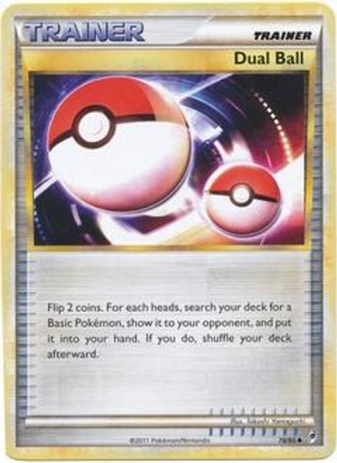 Pokemon Call of Legends Uncommon Dual Ball #78