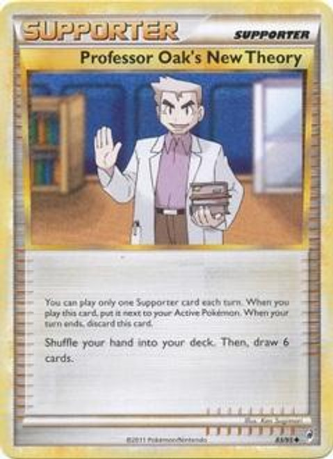 Pokemon Call of Legends Uncommon Professor Oak's New Theory #83