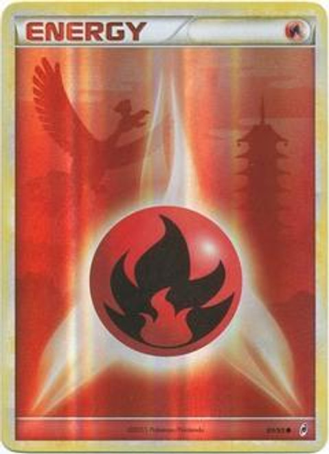 Pokemon Call of Legends Common Fire Energy #89
