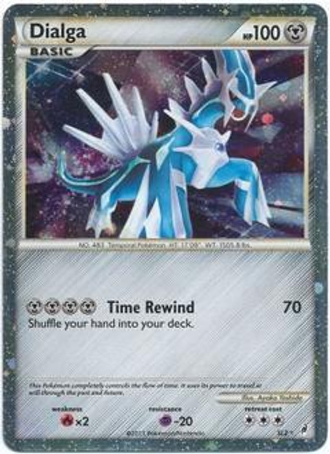 Pokemon Call of Legends Ultra Rare Holo Dialga SL2