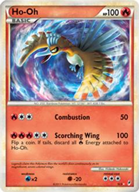 Pokemon Call of Legends Ultra Rare Holo Ho-Oh SL5