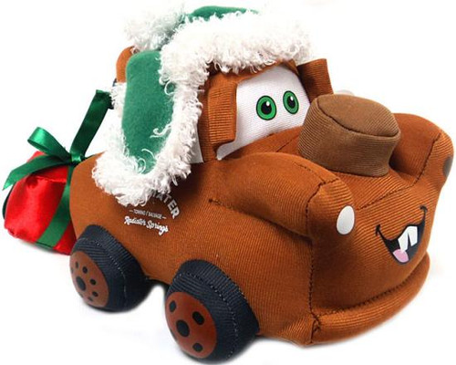 Disney Cars Plush Christmas Mater 7.5-Inch Plush