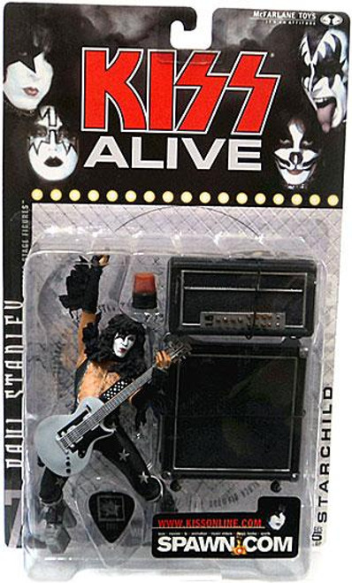 McFarlane Toys Kiss Alive Paul Stanley The Starchild Action Figure