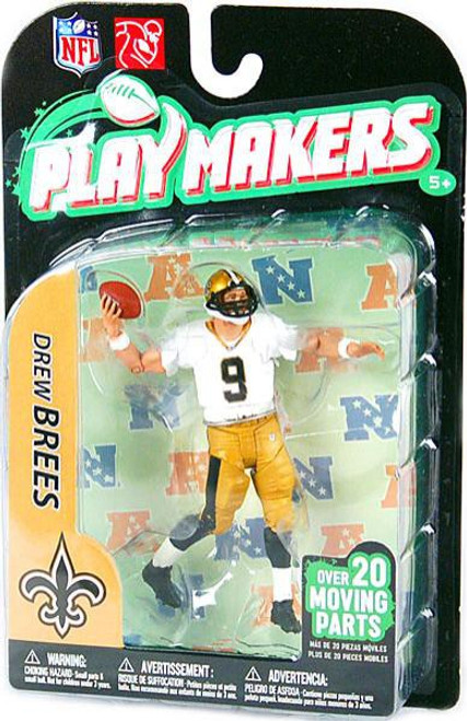 McFarlane Toys NFL New Orleans Saints Playmakers Series 2 Extended Drew Brees Action Figure