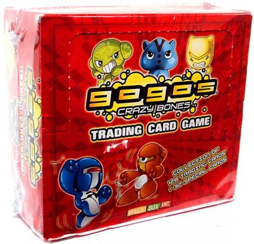 Crazy Bones Gogo's Trading Card Game Booster Box