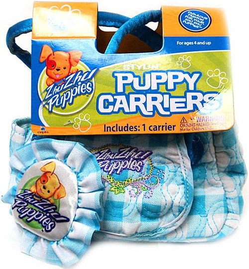 Zhu Zhu Pets Zhu Zhu Puppies Puppy Carriers Stylin' Puppy Carrier Accessory [Blue]