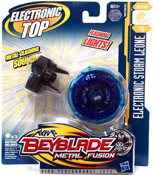 Beyblade Metal Fusion Electronic Storm Leone B-15