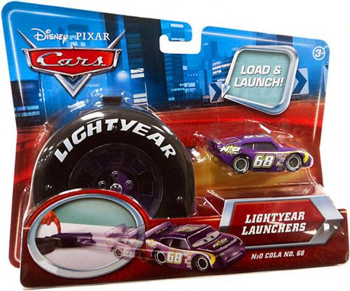 Disney Cars Lightyear Launchers N2O Cola No. 68 Diecast Car