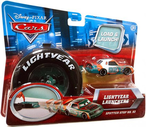 Disney Cars Lightyear Launchers Sputter Stop No. 92 Diecast Car