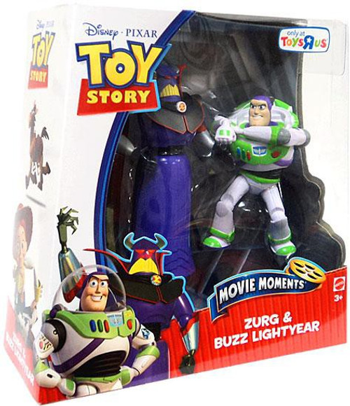Toy Story Movie Moments Zurg & Buzz Lightyear Exclusive Action Figure 2-Pack