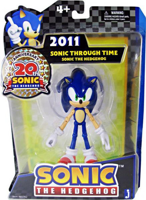 Sonic The Hedgehog 20th Anniversary Sonic Action Figure [2011]