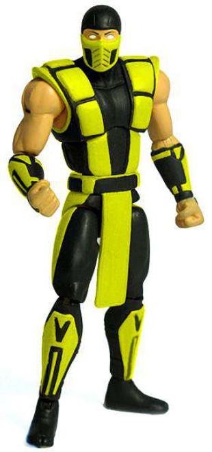 Lego Scorpion Mortal Kombat