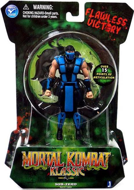 Mortal Kombat Klassic MK2 Sub-Zero Action Figure