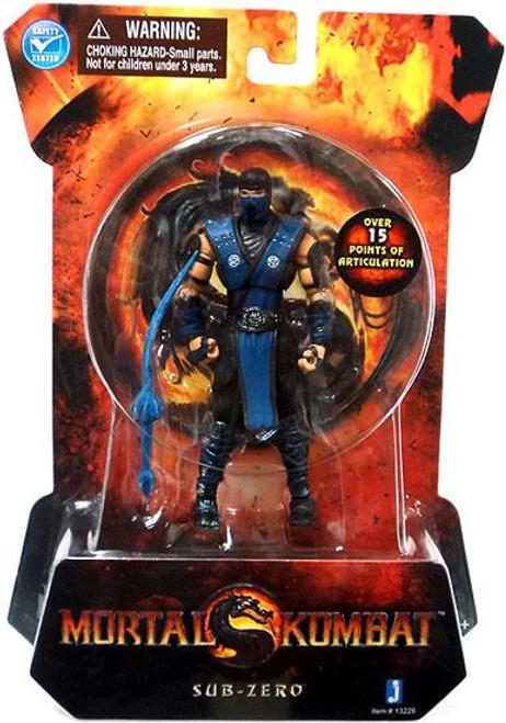 Mortal Kombat MK9 Sub-Zero Action Figure