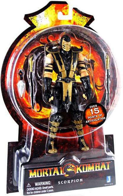 Mortal Kombat 20th Anniversary Scorpion Action Figure