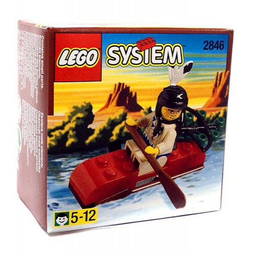 LEGO System Indian Kayak Set #2846
