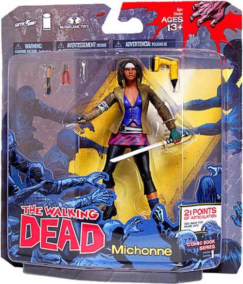 McFarlane Toys Walking Dead Comic Series 1 Michonne Action Figure