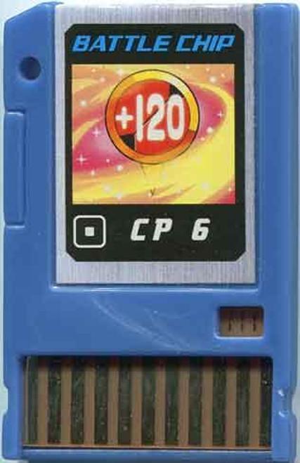 Capcom Mega Man Japanese PET CP 6 Battle Chip #111