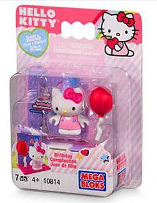 Mega Bloks Hello Kitty Create & Decorate Birthday Set #10814
