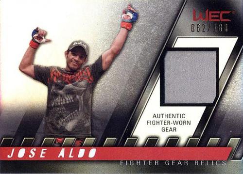 UFC 2010 Knockout Relic Jose Aldo FG-JA