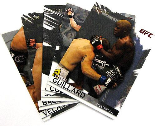 UFC 2010 Knockout Parallel Silver Parallel Base Single Card